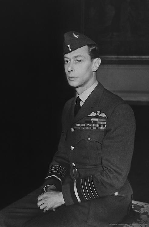 H.R.H. Duke of York in air force uniform, England, UK, 1923