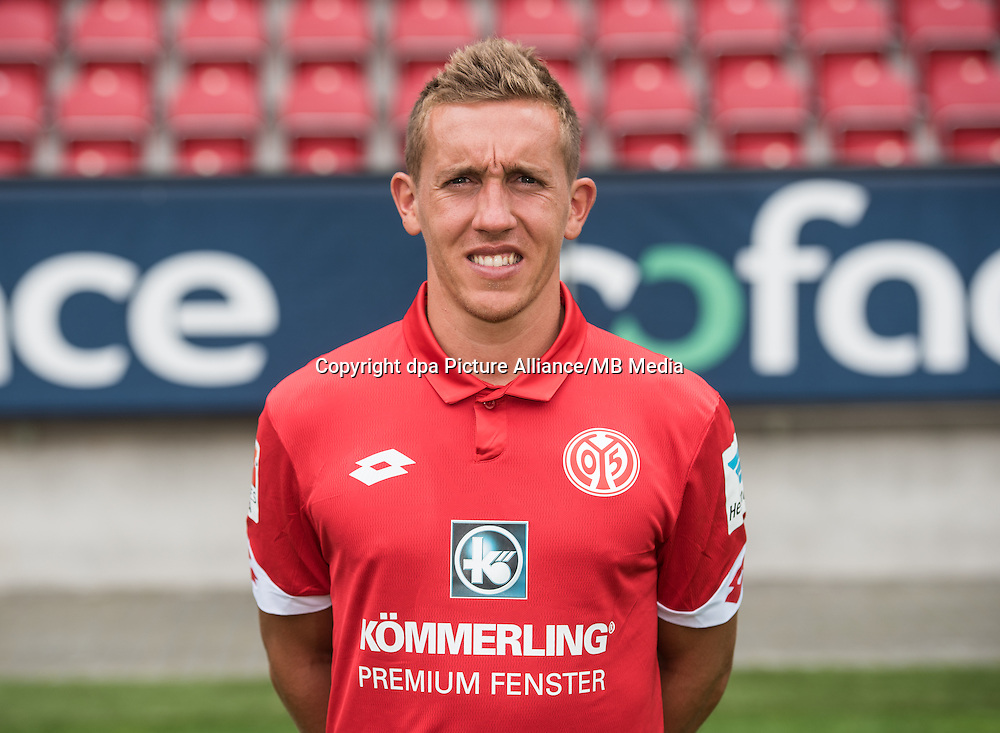 German Bundesliga - Season 2016/17 - Photocall FSV Mainz 05 on 25 July 2016 in Mainz, Germany: Pablo de Blasis (32). Photo: Andreas Arnold/dpa | usage worldwide