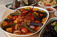 Singapore Perranakan piatti tipici  la testa di pesce<br /> &copy; Paolo della Corte