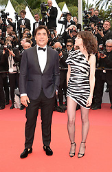 May 14, 2019 - Cannes, France - CANNES, FRANCE - MAY 14: Javier BARDEM and Charlotte Gainsbourg attend the opening ceremony and screening of ''The Dead Don't Die'' during the 72nd annual Cannes Film Festival on May 14, 2019 in Cannes, France. (Credit Image: © Frederick InjimbertZUMA Wire)