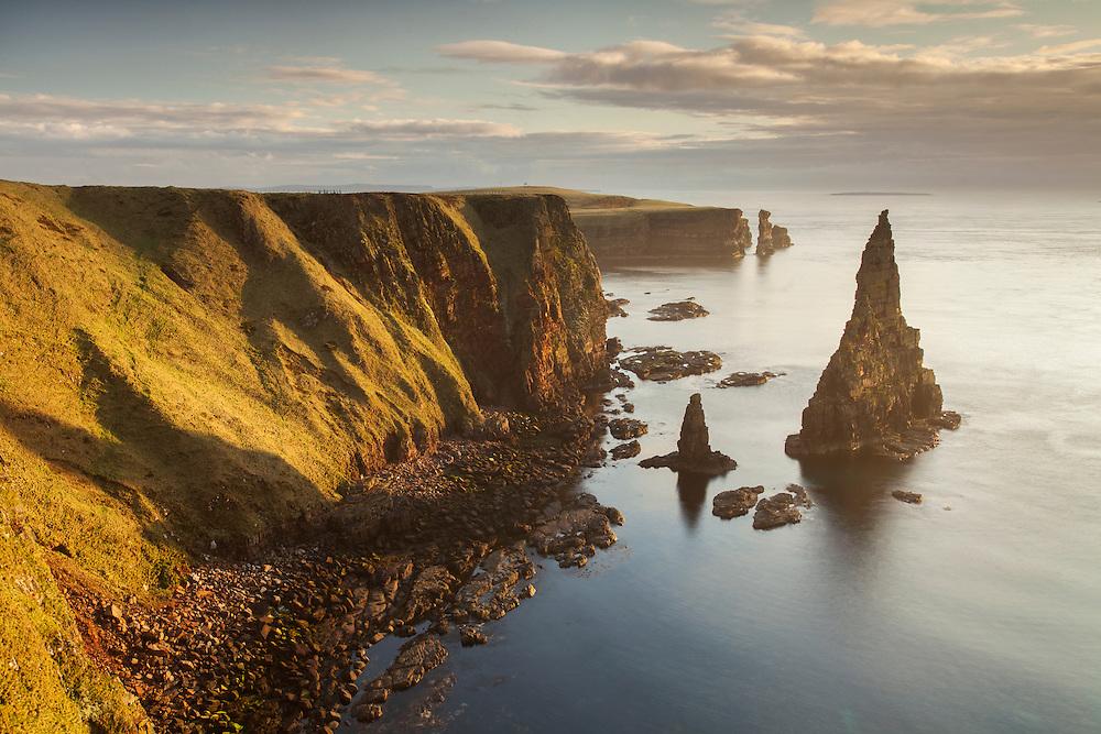 Sea stacks, Duncansby Head, Caithness, Scotland