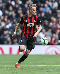 Florent Hadergjonaj of Huddersfield Town on the ball - Mandatory by-line: Arron Gent/JMP - 13/04/2019 - FOOTBALL - White Hart Lane - London, England - Tottenham Hotspur v Huddersfield Town - Premier League