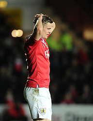 Bristol City's Matt Smith  - Photo mandatory by-line: Joe Meredith/JMP - Mobile: 07966 386802 - 10/02/2015 - SPORT - Football - Bristol - Ashton Gate - Bristol City v Port Vale - Sky Bet League One