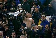 Leeds fans during the EFL Sky Bet Championship match between Middlesbrough and Leeds United at the Riverside Stadium, Middlesbrough, England on 2 March 2018. Picture by Paul Thompson.