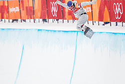 14-02-2018 KOR: Olympic Games day 5, PyeongChang<br /> Men Half Pipe final at Phoenix Park / Chase Josey of the United States