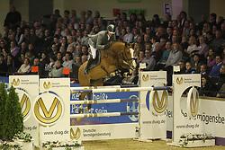 Weishaupt, Philipp (GER), Liberty Son<br /> Frankfurt - Festhallen Reitturnier 2015<br /> Grosser Preis von Hessen<br /> www.sportfotos-lafrentz.de