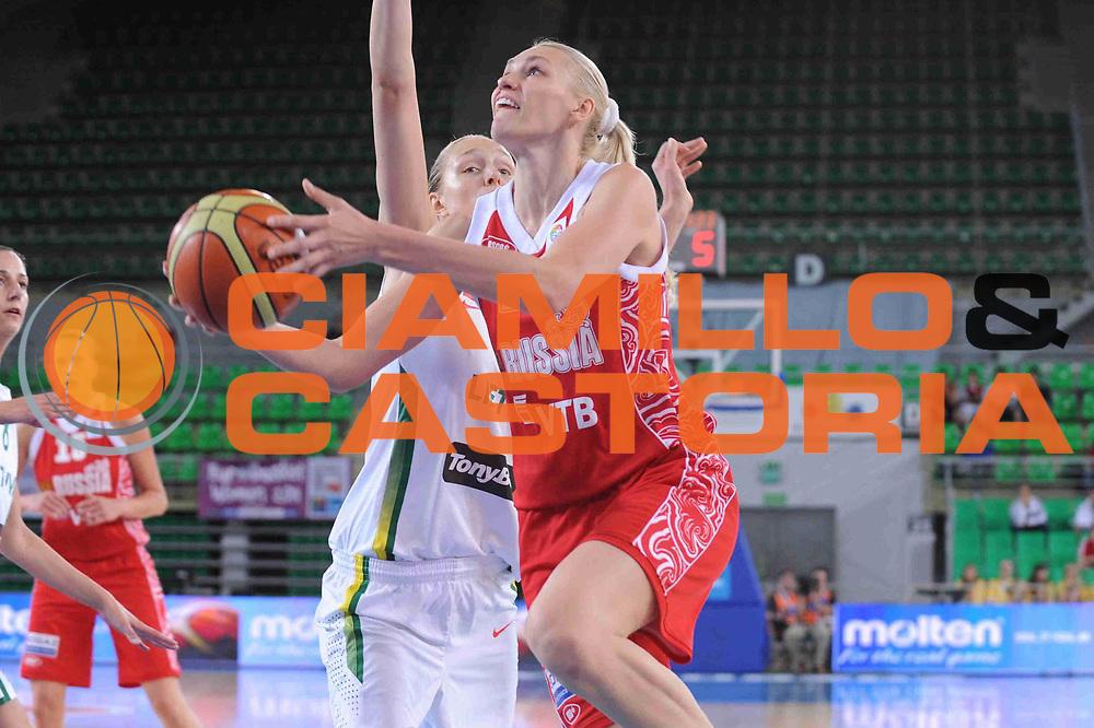 DESCRIZIONE : Bydgoszcz Poland Polonia Eurobasket Women 2011 Round 1 Lituania Russia Lithuania Russia<br /> GIOCATORE : Maria Stepanova<br /> SQUADRA : Russia Russia<br /> EVENTO : Eurobasket Women 2011 Campionati Europei Donne 2011<br /> GARA : Lituania Russia Lithuania Russia<br /> DATA : 19/06/2011 <br /> CATEGORIA : <br /> SPORT : Pallacanestro <br /> AUTORE : Agenzia Ciamillo-Castoria/M.Marchi<br /> Galleria : Eurobasket Women 2011<br /> Fotonotizia : Bydgoszcz Poland Polonia Eurobasket Women 2011 Round 1 Lituania Russia Lithuania Russia<br /> Predefinita :
