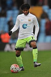 RAHEEM STIRLING MANCHESTER CITY, Aston Villa v Manchester City, The Emirates FA Cup 4th Round Villa Park Saturday 30th January 2016