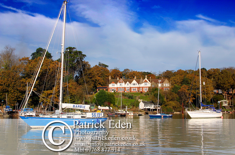 Early morning Wooton Creek Yachts Isle of Wight photography photograph canvas canvases