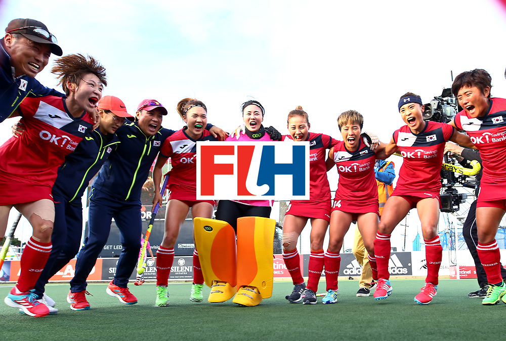 New Zealand, Auckland - 26/11/17  <br /> Sentinel Homes Women&rsquo;s Hockey World League Final<br /> Harbour Hockey Stadium<br /> Copyrigth: Worldsportpics, Rodrigo Jaramillo<br /> Match ID: 10321 - KOR vs ENG<br /> Photo: