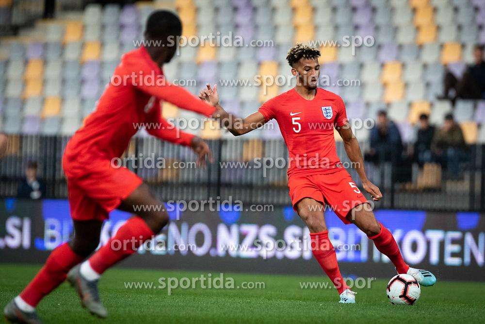 Lloyd Kelly of England during friendly Football match between U21 national teams of Slovenia and England, on October 11, 2019 in Ljudski Vrt, Maribor, Slovenia. Photo by Blaž Weindorfer / Sportida