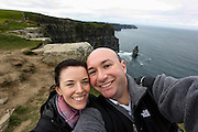 Allison and I at The Cliffs of Moher in County Clare, Ireland on Friday June 21st 2013. (Photo by Brian Garfinkel)