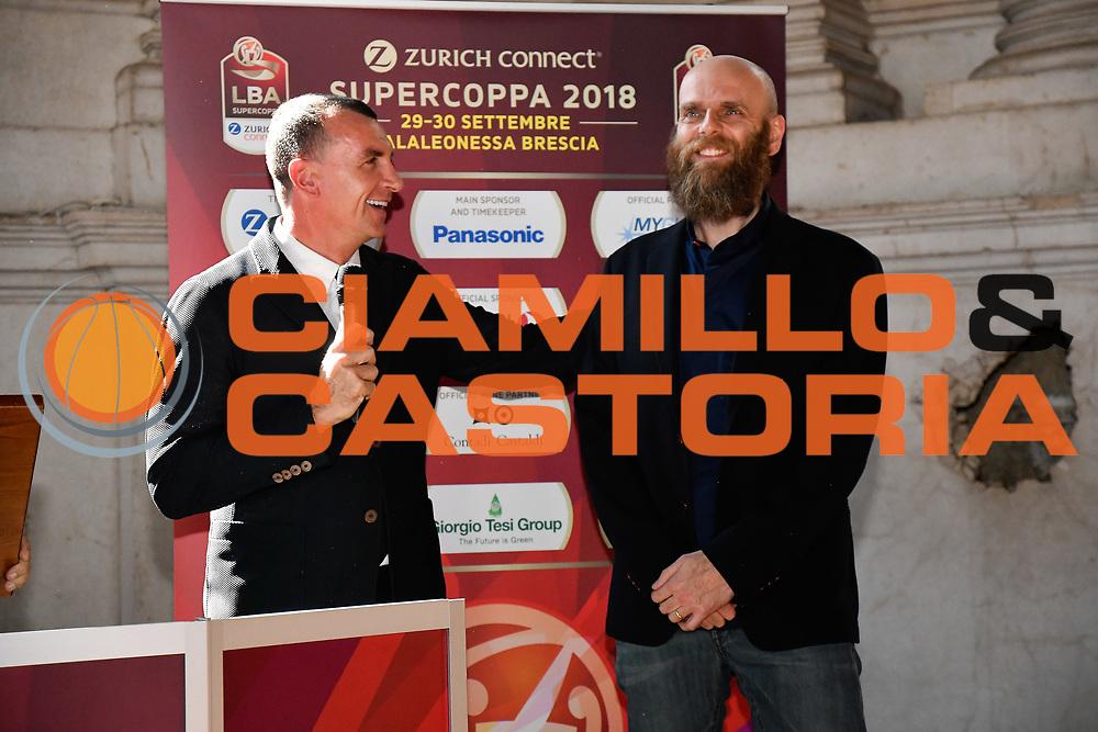 cancellieri<br /> presentazioe supercoppa 2018<br /> Legabasket Serie A 2018/19<br /> Brescia, 24/09/2018<br /> Ciamillo-Castoria