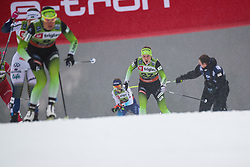 Alenka Cebasek (SLO) during the Ladies sprint free race at FIS Cross Country World Cup Planica 2019, on December 21, 2019 at Planica, Slovenia. Photo By Grega Valancic / Sportida