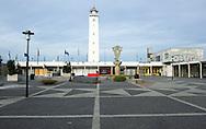 Vuurtoren Noordwijk aan Zee, Zuid-Holland ontworpen door C. Jelsma - Lighthouse Noordwijk aan zee, Netherlands, designed by C. Jelsma