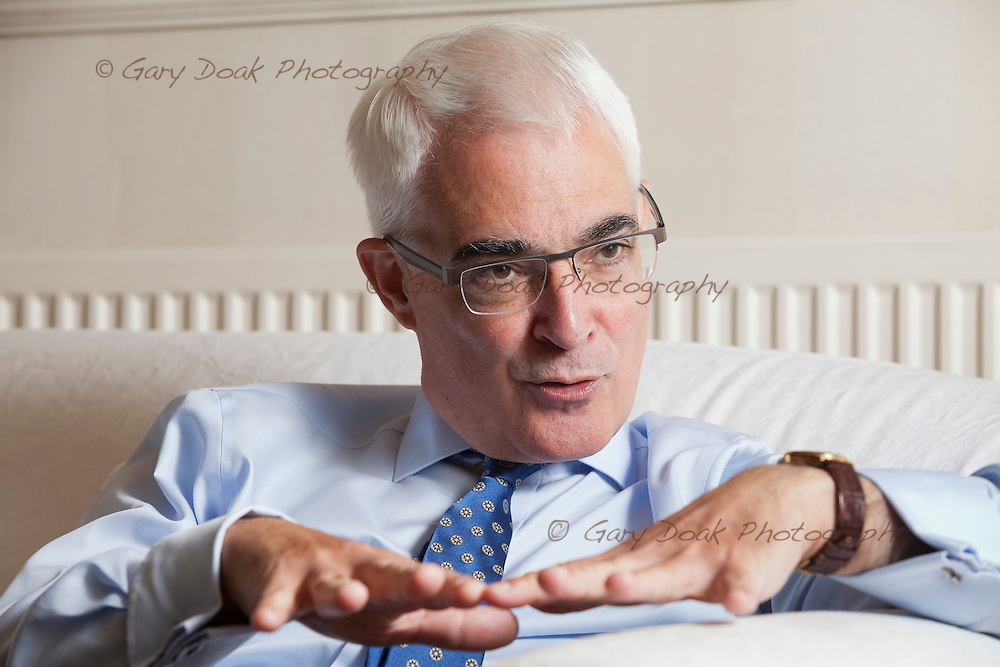 Alistair Darling. Edinburgh, Scotland. 31st October 2014<br /> <br /> Photograph by Gary Doak