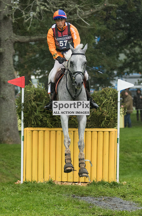 Tim LIPS (NED) on Keyflow N.O.P.  Longines FEI European Eventing Championship 2015, Blair Castle, 12th September 2015