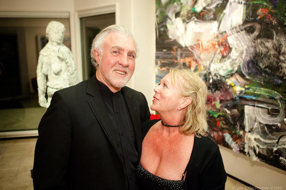 Neil Hadfield and Margaret Jackson.