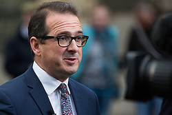 London, UK. 15th November, 2018. Owen Smith, Labour MP for Pontypridd, appears on College Green in Westminster following the Cabinet resignations of Brexit Secretary Dominic Raab and Work and Pensions Secretary Esther McVey the day after Prime Minister gained Cabinet approval of a draft of the final Brexit agreement
