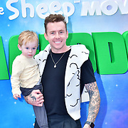 Cooper Alf Jones and Danny Jones attend the Shaun the Sheep Movie: Farmageddon, at ODEON LUXE on 22 September 2019,  London, UK
