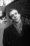 Neville pulling face. High Wycombe, UK, 1980s.