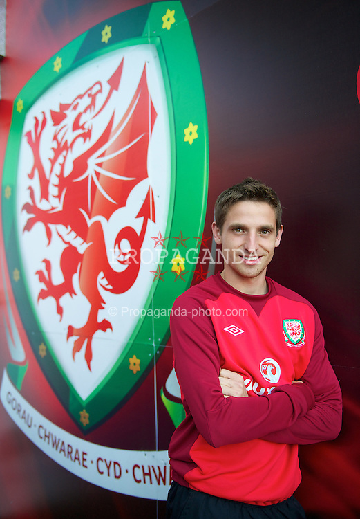 CARDIFF, WALES - Thursday, September 6, 2012: Wales' Joe Allen during a training session at the Cardiff City Stadium ahead of the 2014 FIFA World Cup Brazil Qualifying Group A match against Belgium. (Pic by David Rawcliffe/Propaganda)