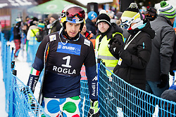 Roland Fischnaller (ITA) during Final Run of Men's Parallel Giant Slalom at FIS Snowboard World Cup Rogla 2016, on January 23, 2016 in Course Jasa, Rogla, Slovenia. Photo by Ziga Zupan / Sportida