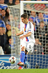 18.09.2013, Stamford Bridge, London, ENG, UEFA Champions League, FC Chelsea vs FC Basel, Gruppe E, im Bild Basel's Fabian Schar  during UEFA Champions League group E match between FC Chelsea and FC Basel at the Stamford Bridge, London, United Kingdom on 2013/09/18. EXPA Pictures © 2013, PhotoCredit: EXPA/ Mitchell Gunn <br /> <br /> ***** ATTENTION - OUT OF GBR *****
