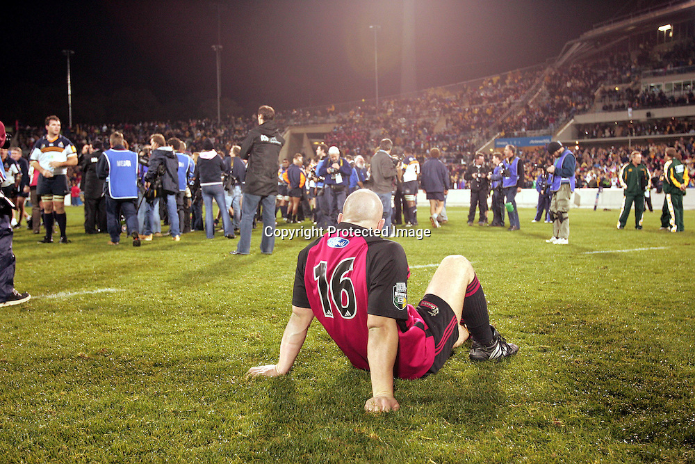 22 May, 2004. Super 12 Final, Canberra Stadium, Canberra ACT, Australia.<br />