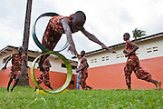 Wema have encouraged and facilitated the young boys that attend the centre to take up acrobatics. A useful skill they can use in the future to entertain the tourists that go Mombassa on holiday.