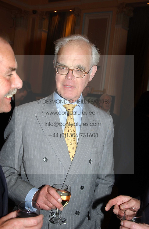 ROBIN HAY at a party to celebrate the publication of 'Reflections in Middle Years' by Michael Wynne Parker was held at the Royal Airforce Club, 128 Piccadilly, London on 12th May 2005.<br />