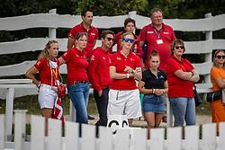 SAYN-WITTGENSTEIN Nathalie zu (Nationaltrainer DEN)<br /> U25 Intermediare II - Team Test<br /> Pilisjászfalu - FEI Youth Dressage EUROPEAN CHAMPIONSHIPS 2020<br /> 18. August 2020<br /> © www.sportfotos-lafrentz.de/Stefan Lafrentz