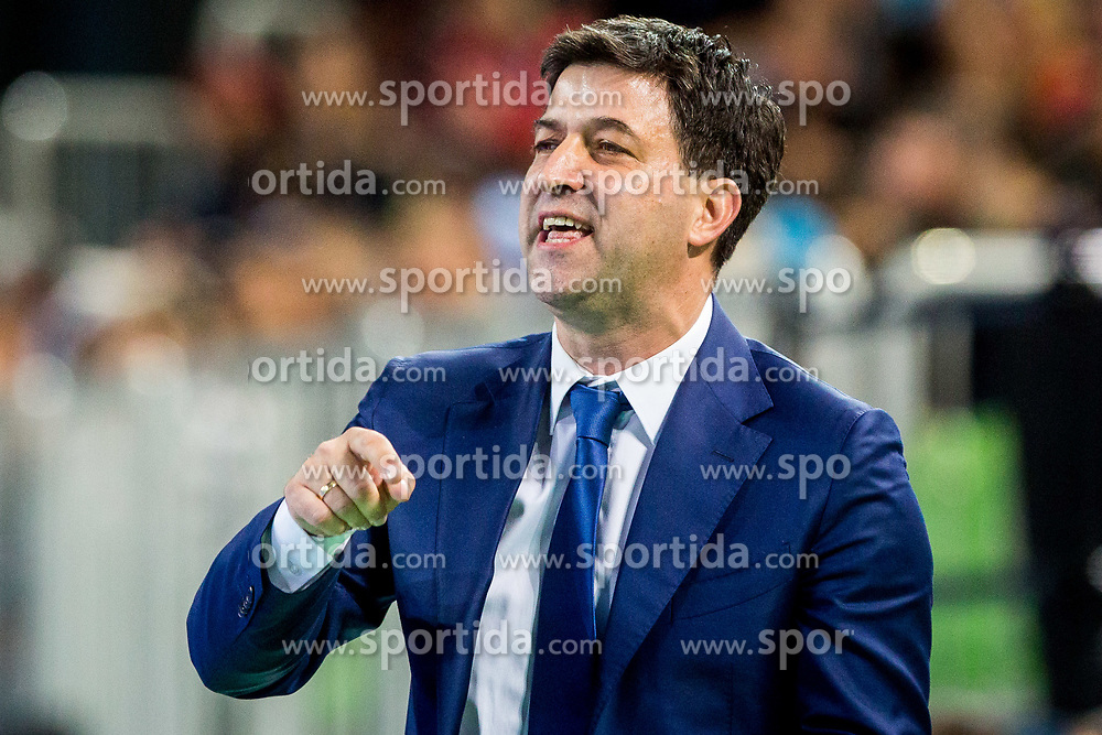 Goran Ivancic, head coach of Serbia during futsal match between Slovenia and Serbia at Day 1 of UEFA Futsal EURO 2018, on January 30, 2018 in Arena Stozice, Ljubljana, Slovenia. Photo by Ziga Zupan / Sportida
