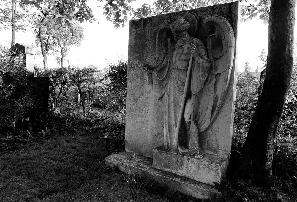 MORDFALL SANDRO  BEYER -  SONDERSHAUSEN<br />Der Junge Sandro wurde im Mai 1993 tot im Wald aufgefunden - als T&auml;ter wurden drei junge M&auml;nner,<br />darunter der Hauptt&auml;ter Ronald M&ouml;bus verhaftet...<br />HIER: Auf dem Hauptfriedhof von Sondershausen hielten die Anh&auml;nger des Satans-Kultes schwarze Messen ab...<br />13.05.1993<br />&copy;  christian  JUNGEBLODT.