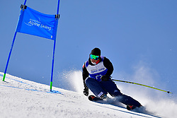 Forerunner, Giant Slalom at the WPAS_2019 Alpine Skiing World Cup, La Molina, Spain