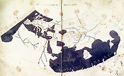 Ptolemy's 150 CE World Map (redrawn in the 15th century).