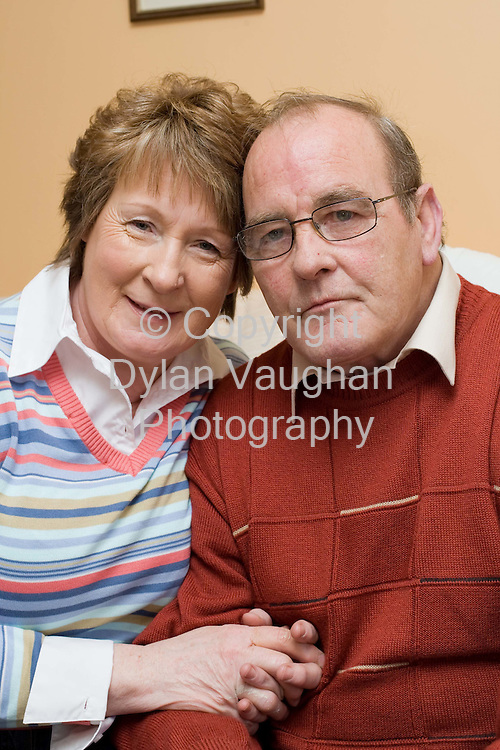 20/3/2008.Joe and Margaret Dawson pictured at his home near Kilmanagh County Kilkenny..Picture Dylan Vaughan.