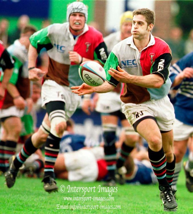 Richmend , United Kingdom.   Rugby. England v Harlequins vs Sale. 31-3-01, Rob Jewell.  [Mandatory Credit; Peter Spurrier/Intersport Images].. ...........