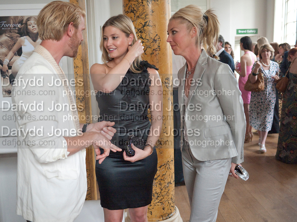 ALISTAIR GUY; HOLLY VALANCE; TAMARA BECKWITH, Elizabeth Arden.-100th anniversary party. 33 Fitzroy Square, London W1, 29 June 2010. DO NOT ARCHIVE-© Copyright Photograph by Dafydd Jones. 248 Clapham Rd. London SW9 0PZ. Tel 0207 820 0771. www.dafjones.com.