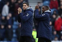 Rangers new signings Matt Polster and Glen Kamara paraded at half time during the Ladbrokes Scottish Premiership match at Ibrox Stadium, Glasgow.
