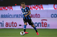 Inter's Italian midfielder Nicolo Barella during the Serie A match at Stadio Ennio Tardini, Parma. Picture date: 28th June 2020. Picture credit should read: Jonathan Moscrop/Sportimage