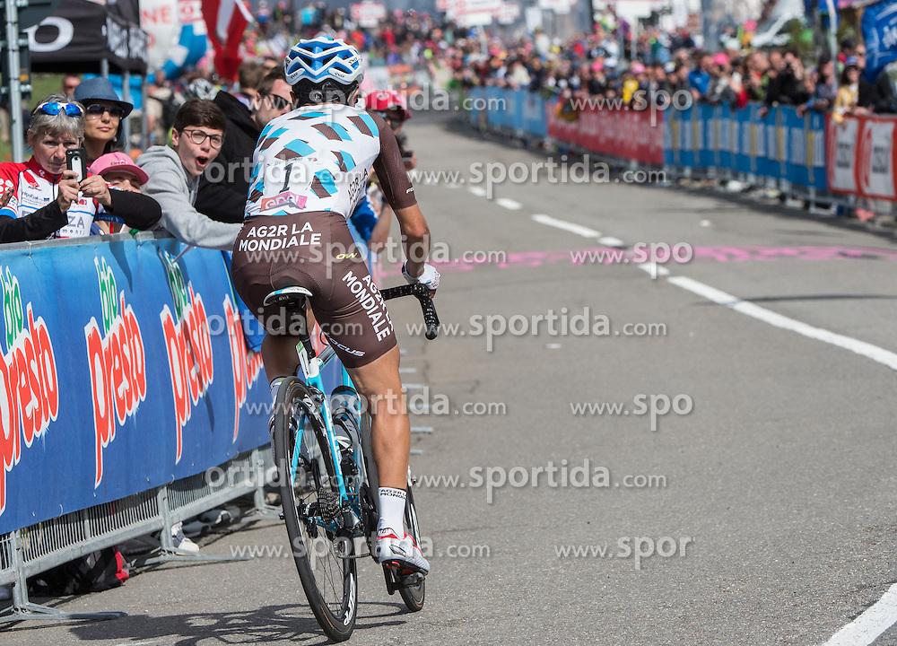 22.05.2016, Kastelruth nach Seiseralm, ITA, Giro d Italia 2016, 15. Etappe, im Bild Domenico Pozzovivo (ITA, Team AG2R) // during 15th Stage, from Castelrotto to Alpe di Siusi of the Giro d Italia at. in Kastelruth nach Seiseralm, Italy on 2016/05/22. EXPA Pictures © 2016, PhotoCredit: EXPA/ Reinhard Eisenbauer