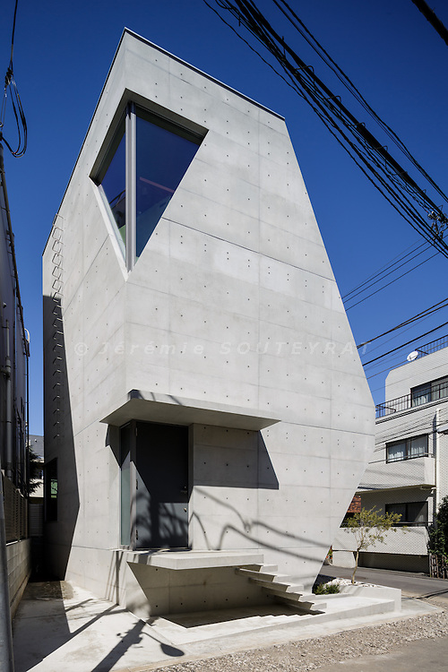 Tokyo, March 24 2015 - R-Torso-C House by Atelier Tekuto.