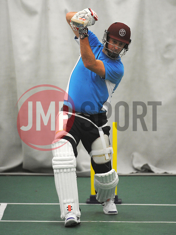 Somerset's Marcus Trescothick- Photo mandatory by-line: {Harry Trump/JMP} - Mobile: 07966 386802 - 12/02/15 - SPORT - Cricket - The County Ground, Taunton, England - Somerset Training Session