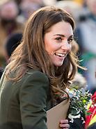 Prince William and Catherine Duchess of Cambridge visit to Bradford,
