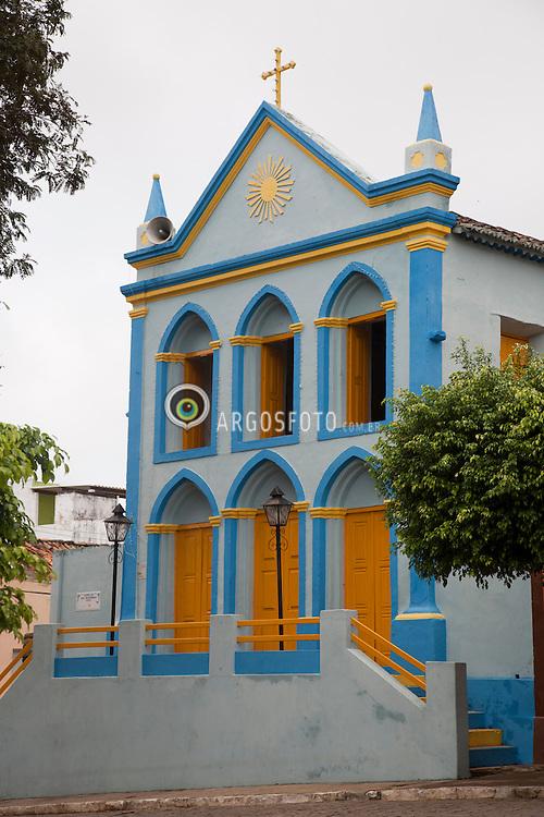 Arquitetura de Triunfo-PE, cidade turistica no sertao do Pajeu. Igreja do Rosario / Architecture of Triunfo, a historic town in Pernambuco, Brazil. Rosario Church.