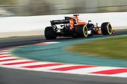 March 7-10, 2017: Circuit de Catalunya. Fernando Alonso (SPA), McLaren Honda,  MCL32