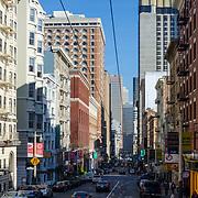 Street detail. San Francisco, CA.