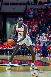 NORMAL, IL - December 31: Abdou Ndiaye during a college basketball game between the ISU Redbirds and the University of Northern Iowa Panthers on December 31 2019 at Redbird Arena in Normal, IL. (Photo by Alan Look)