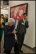 Delfina Entrecanales; AARON CESAR , Art 14. Olympia Grand Hall. London. 27 February 2013.